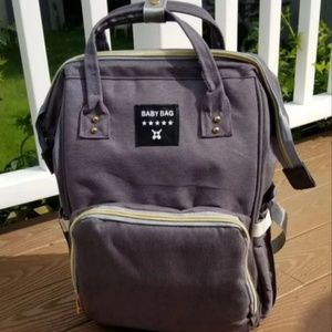 Other - Gray diaperbag backpack ((BRAND NEW!!))